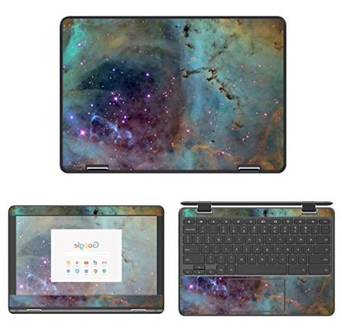 decalrus - Protective Decal Galaxy Skin Sticker for Lenovo N