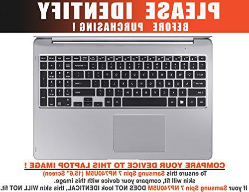 Decalrus - Protective Skin Sticker for Samsung Notebook 7 cover wrap
