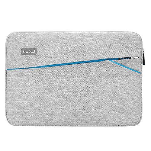 "Lacdo 15 Sleeve 15"" MacBook Pro Touch Bar 2018-2017   Inch 2012-2015 S Inspiron 14, Bag, Gray"