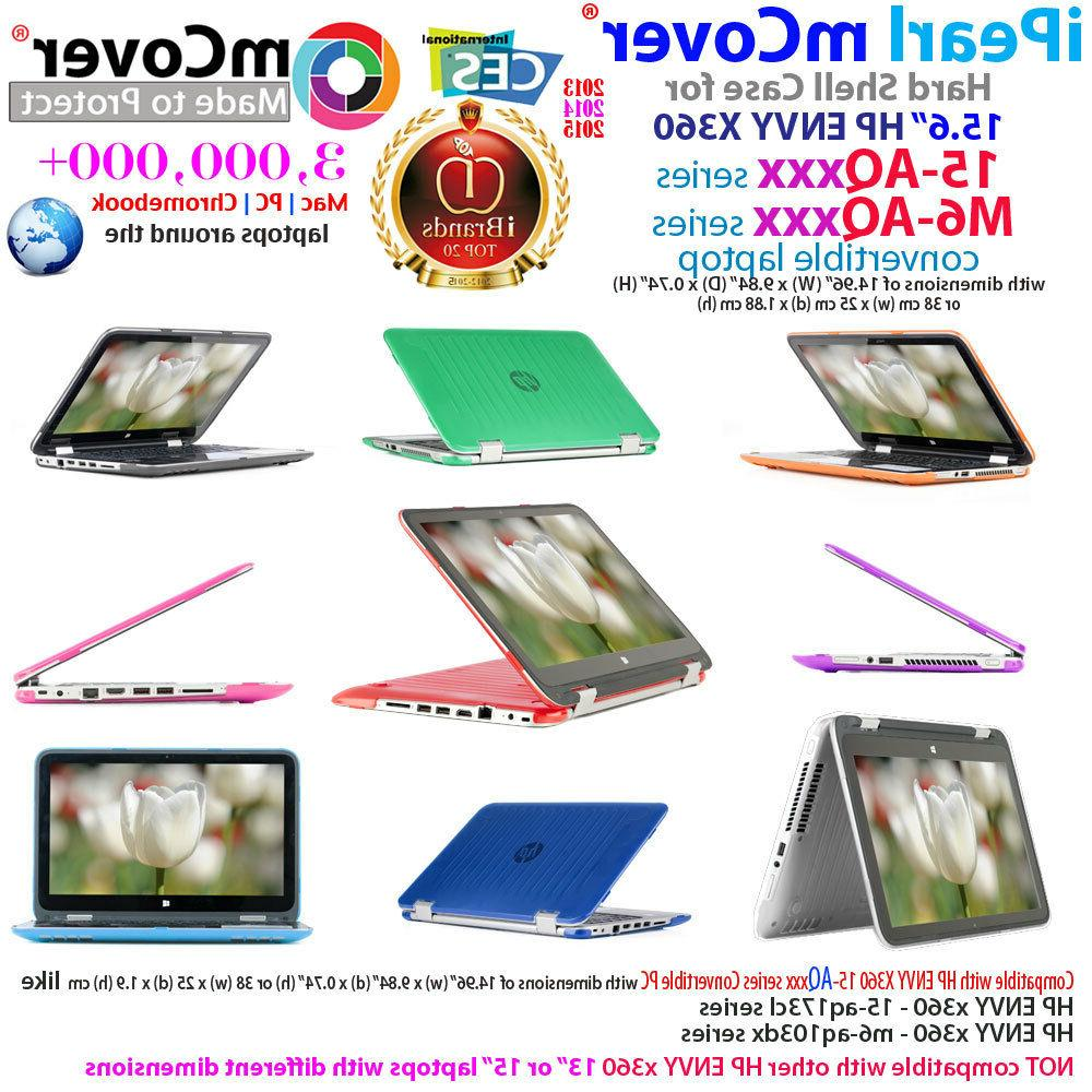 """NEW mCover® Hard Shell Case for 15.6"""" HP ENVY X360 15-AQxxx"""