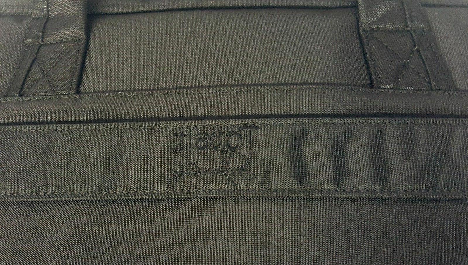 ToteIt Laptop Computer Shoulder Bag Briefcase Black up