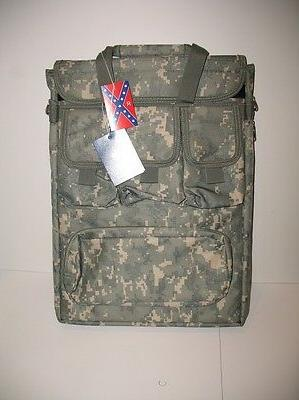 acu digital camo military laptop molle shoulder