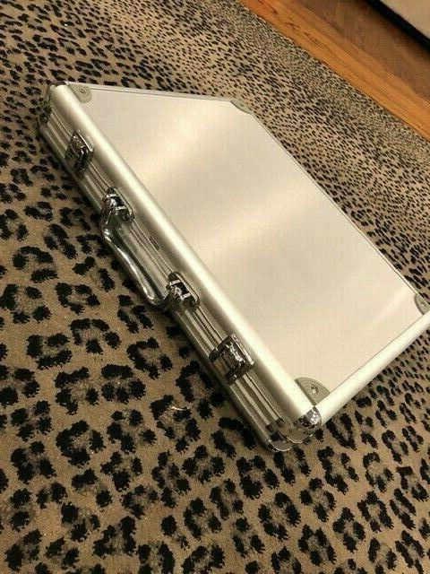 Aluminium Quick Carrying Case Briefcase Laptop 12x15x2.5