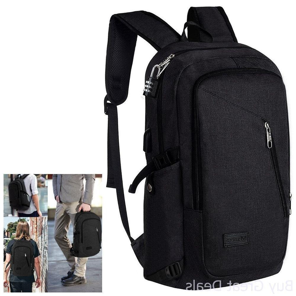Anti Theft Business Laptop Backpack with USB Charging Port F
