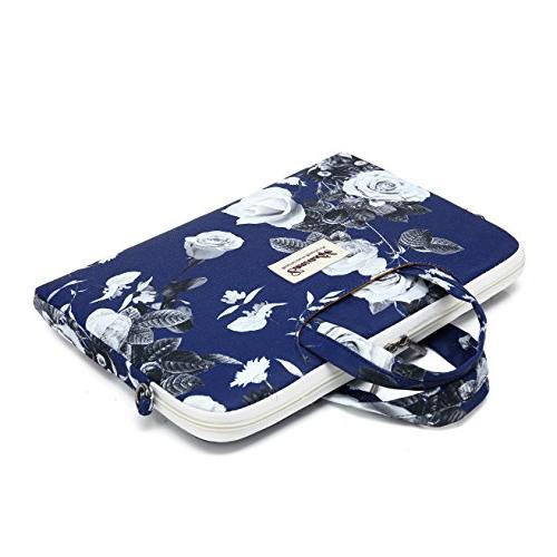 Canvaslife Big White Patten Shoulder Messenger Bag Inch Inch and Macbook Pro 11