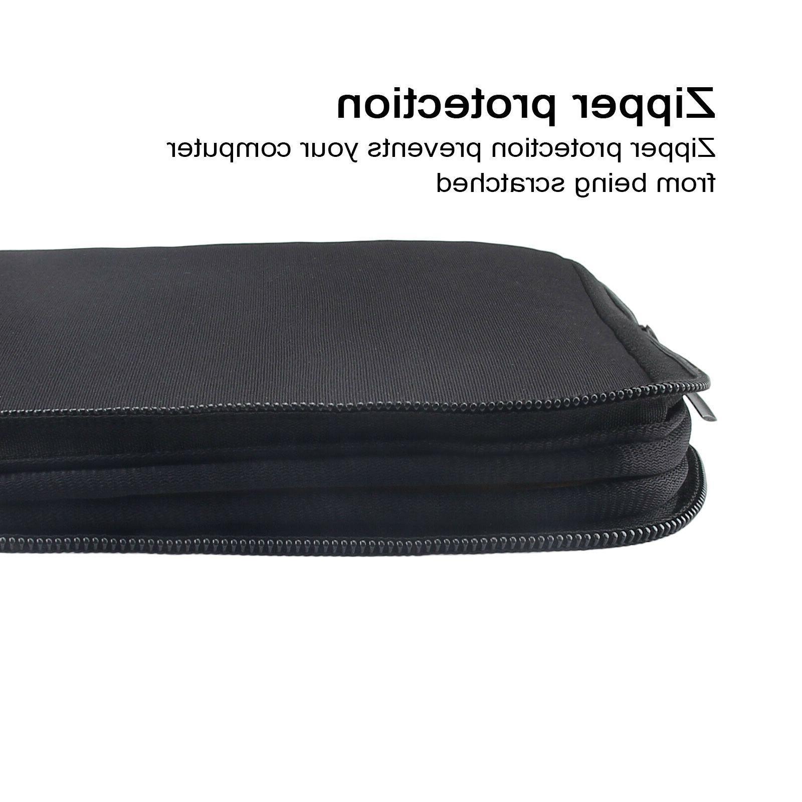 "Black 15.6"" Laptop Sleeve Bag Notebook Case For HP Lenovo ASUS"