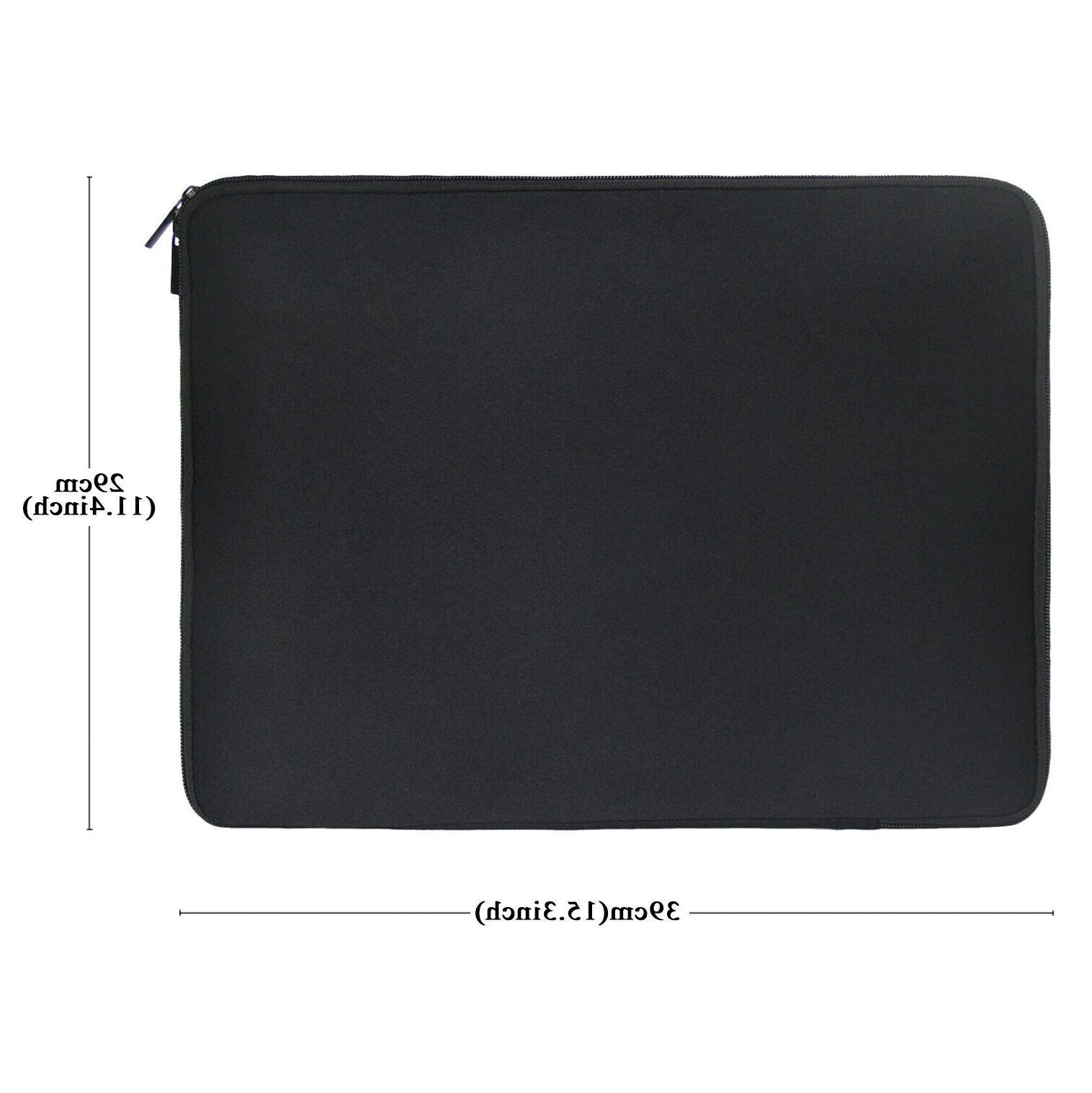 Black Sleeve Case For HP Lenovo Mac