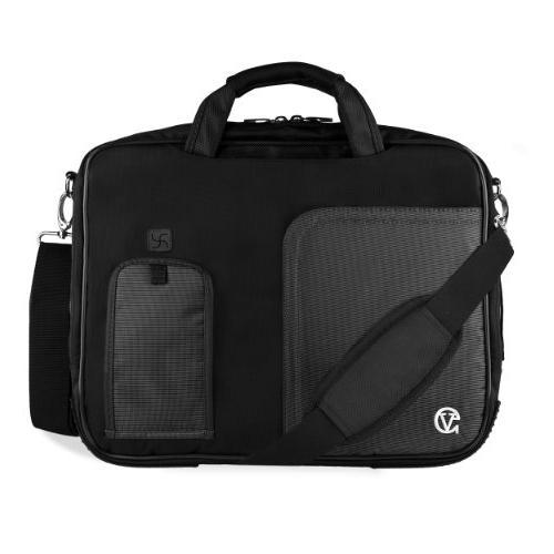 black crossbody shoulder briefcase satchel