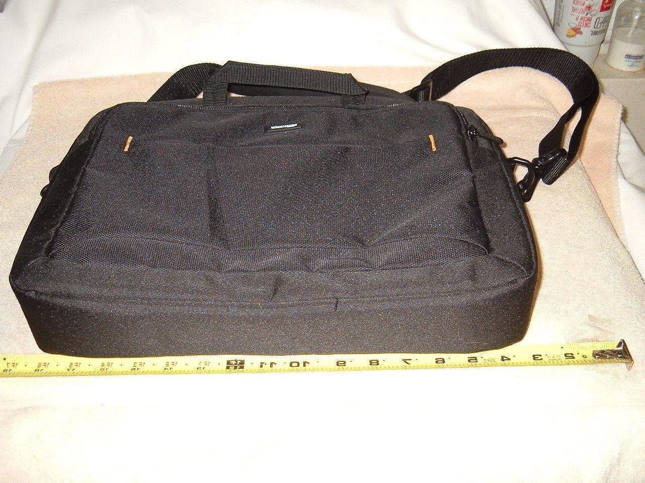 black laptop case