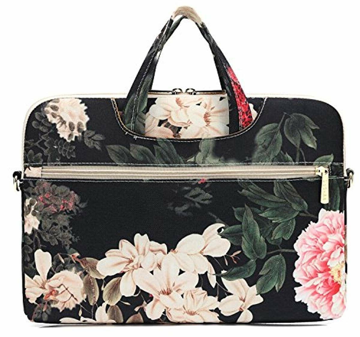 DACHEE Black Waterproof Shoulder Messenger Bag Case Sleeve