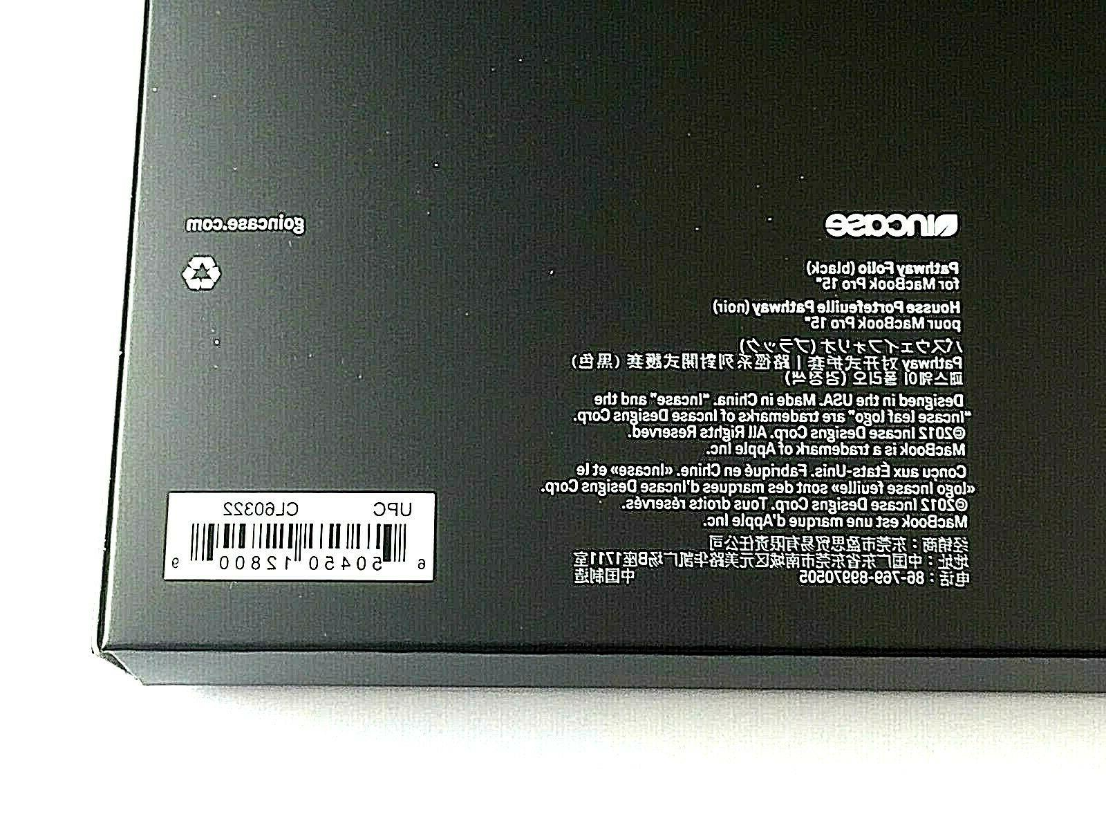 """BRAND-NEW Incase 15"""" Laptop For More"""