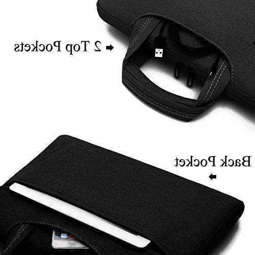 Brinch Unisex Inch Laptop Messenger with Accessory Bag for Acer, Asus, Lenovo, Samsung, Toshiba