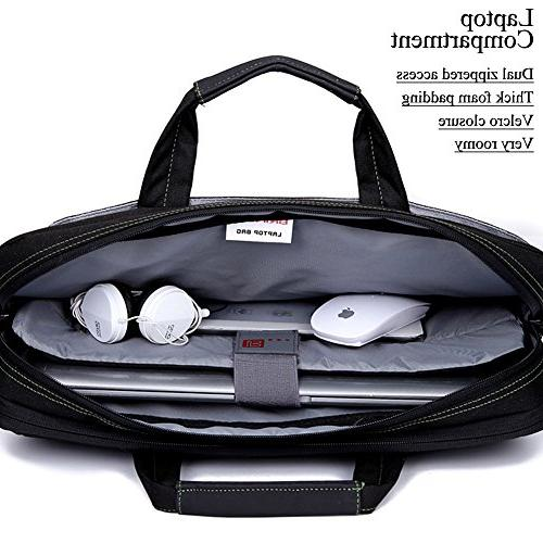 Inch Shockproof Laptop Case Messenger For 17 Inch Laptop Notebook MacBook with Shoulder Various Pockets