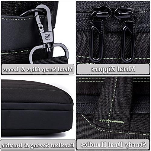 BRINCH Inch Nylon Shockproof Laptop Case Messenger 17 - Laptop / / MacBook Shoulder Strap Handles and Various