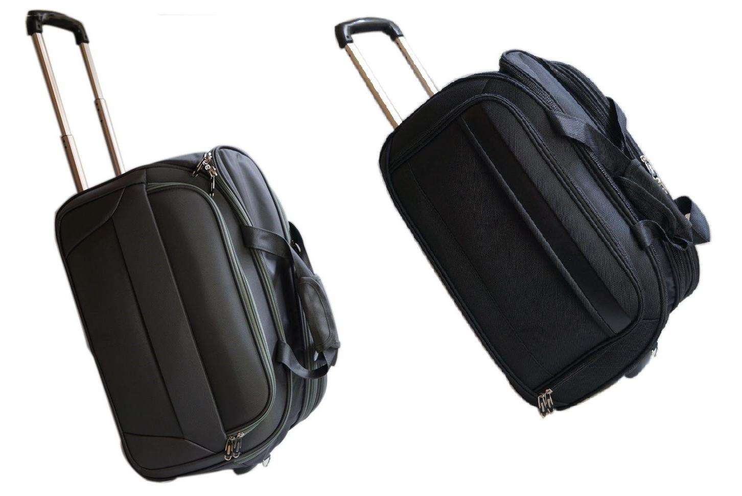 Business Laptop Computer Travel Bag Case Wheeled Luggage Bri