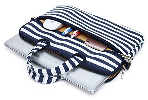 Kayond Carrying Case Shoulder Messenger Bag Daily Breton Stripe