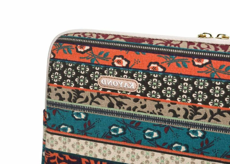 Kayond Canvas 13.3 Inch Sleeve Case For 12.5