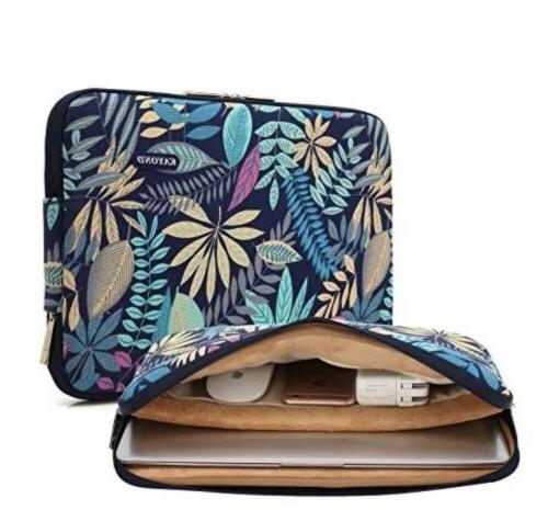 Kayond canvas Water-resistant 14-14.1 Inch Laptop Sleeve Cas