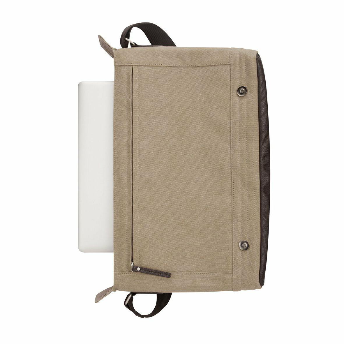 Targus Messenger 15.6-Inch Laptops Beige