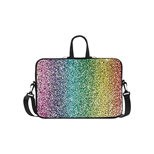 classic personalized bling glitter rainbow