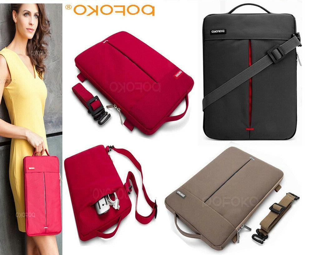 convertible tablet laptop sleeve carry case shoulder