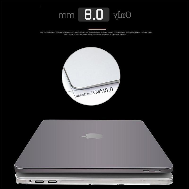 Crystal MacBook 2018 Air 13 A1466 A1369 Pro Retina 11 15.4 15 Shell