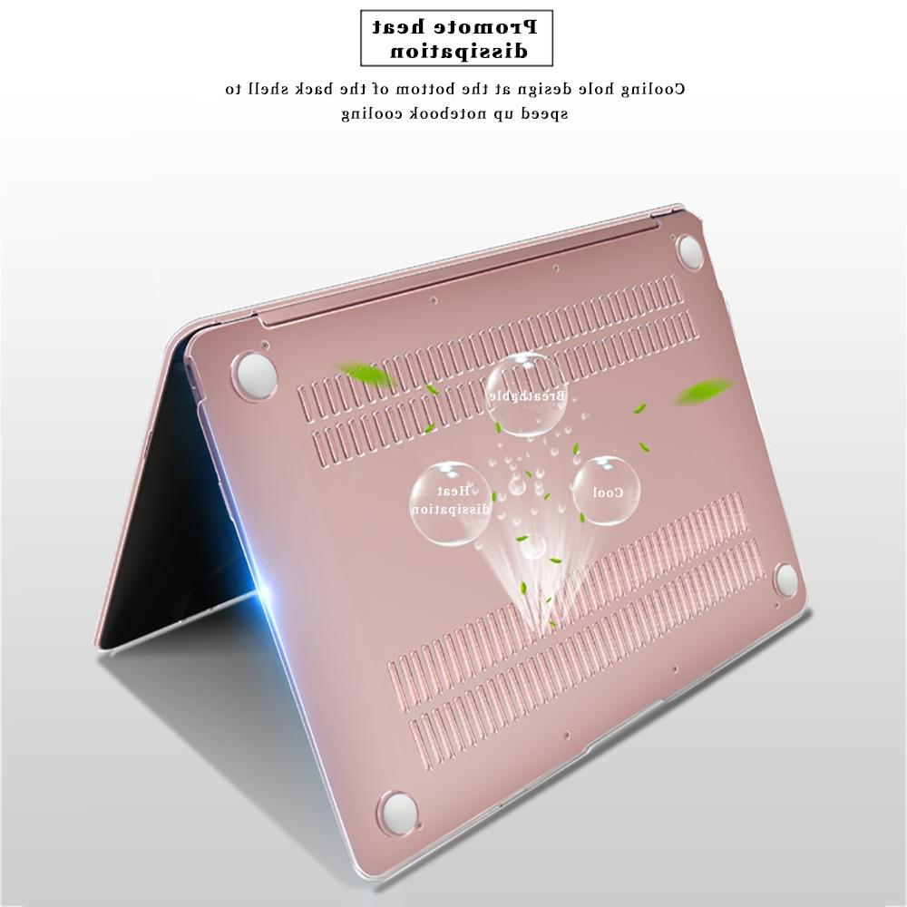Crystal <font><b>Laptop</b></font> MacBook A1932 2018 13 Retina 12 15.4