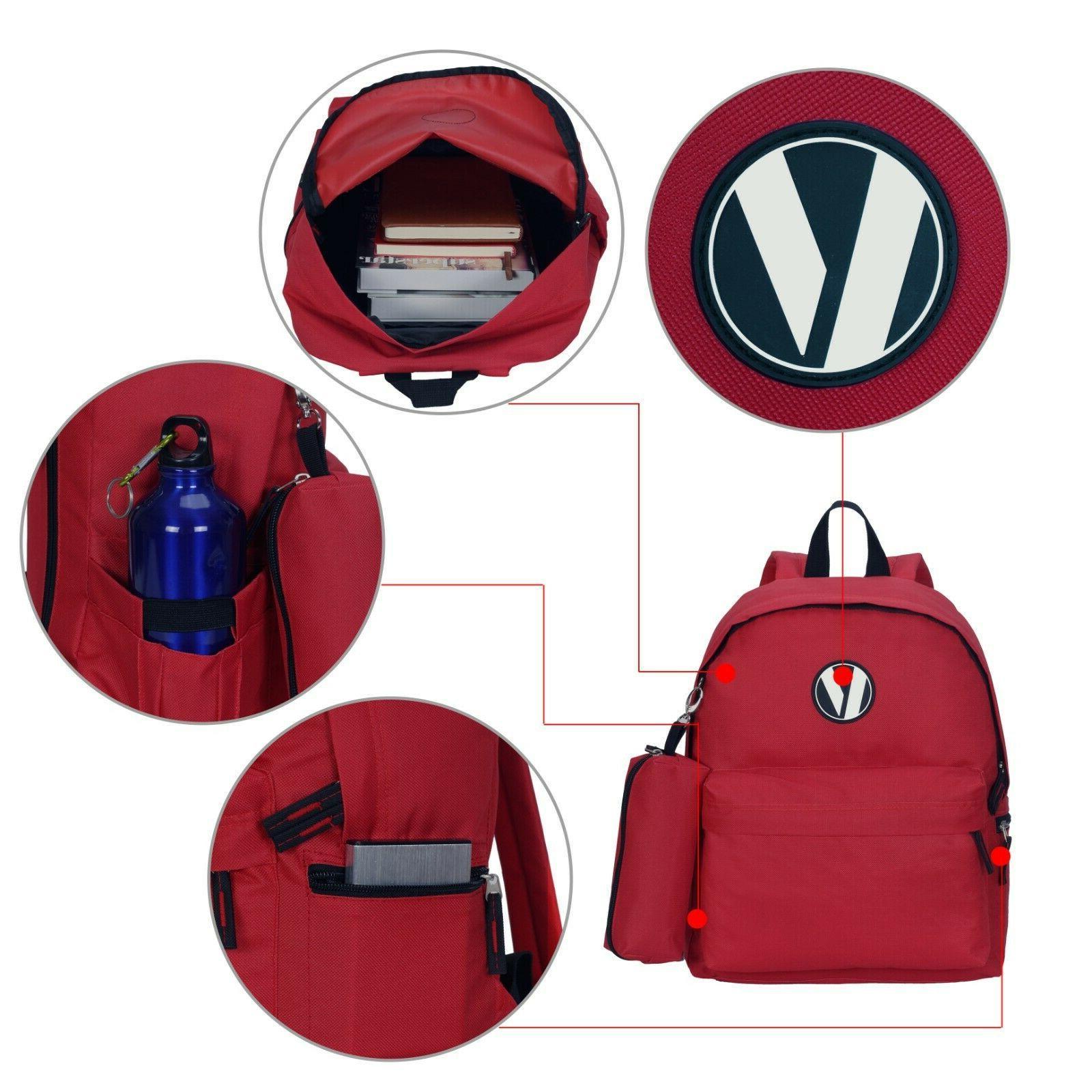 Cute Medium School Laptop Backpack Pencil Case Set Gifts