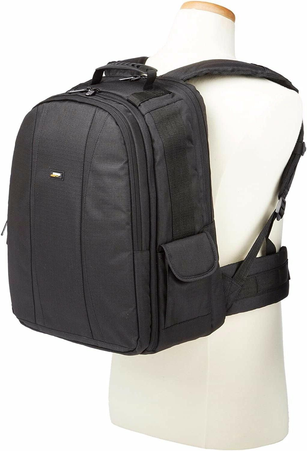 AmazonBasics Backpack Travel Case Black