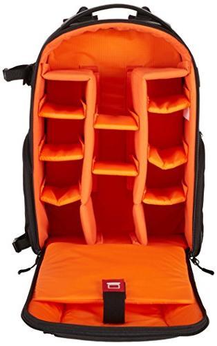 AmazonBasics DSLR Laptop Backpack