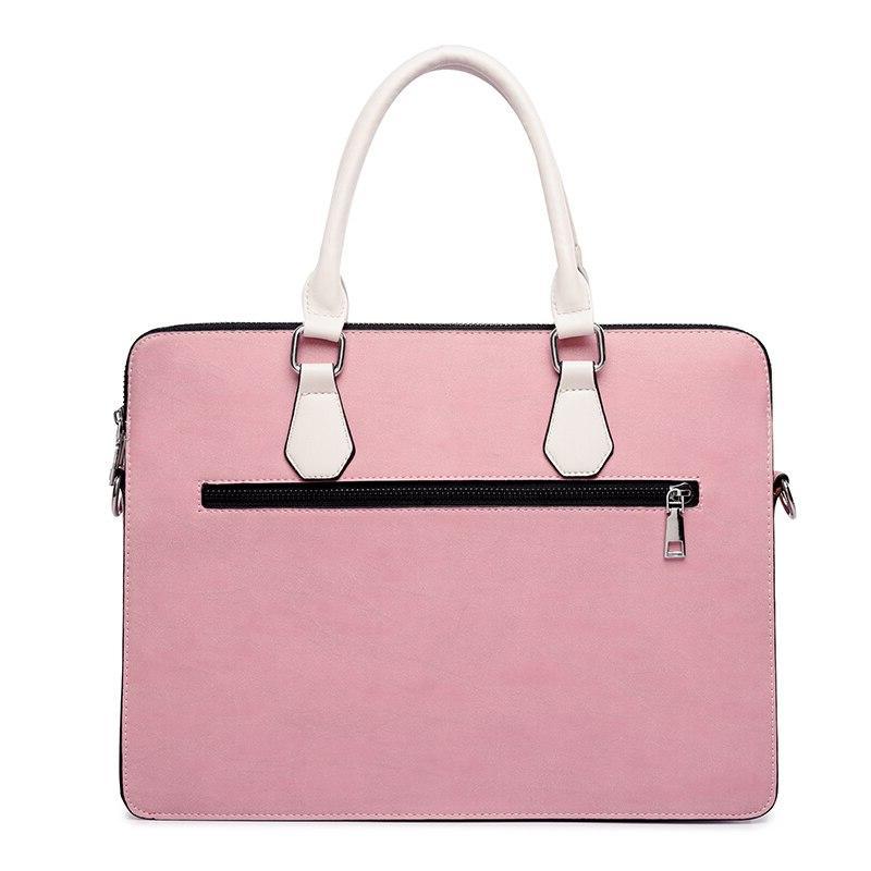 <font><b>Laptop</b></font> bag <font><b>case</b></font> Shoulder 13.3 inch for Air Pro handbag <font><b>Pink</b></font>