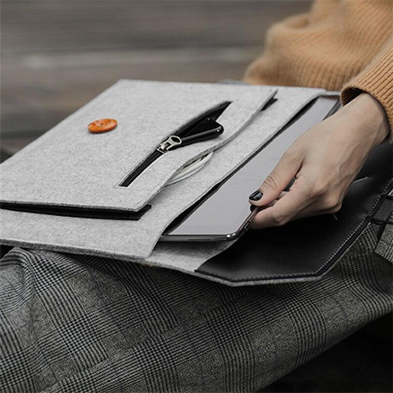 Fashion Wool <font><b>Laptop</b></font> Sleeve <font><b>Case</b></font> For Macbook Pro 11 12 13 15 HP