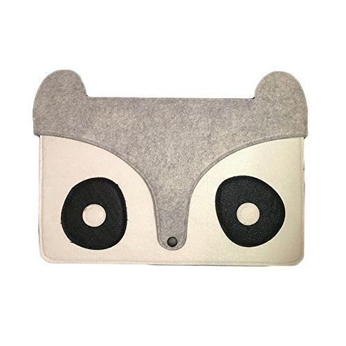 felt laptop fox bag