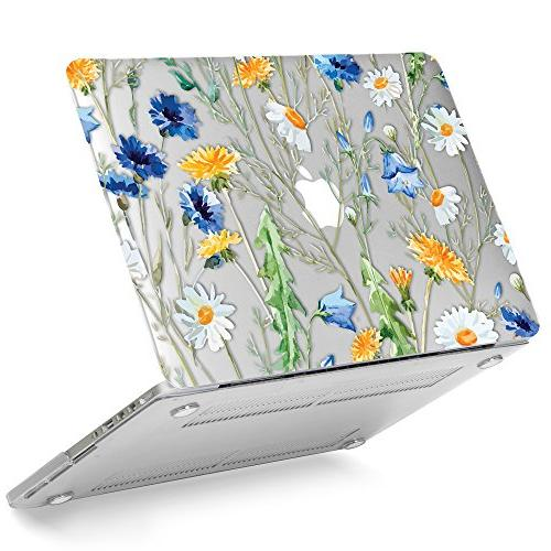 floral pattern glossy clear see