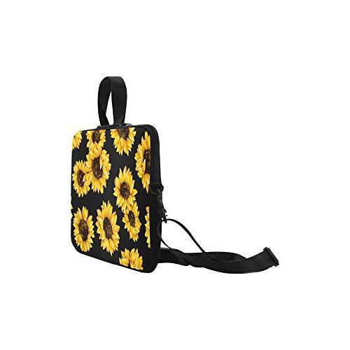 InterestPrint Sleeve Bag, Shoulder Strap Notebook Computer Air