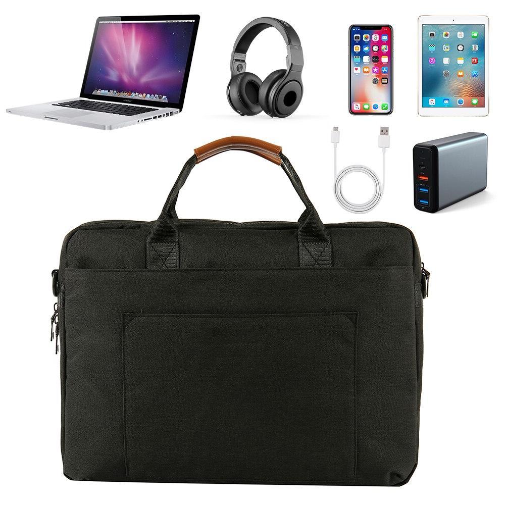 <font><b>Laptop</b></font> Bag Waterproof Notebook Macbook Computer Shoulder Bag <font><b>Case</b></font>