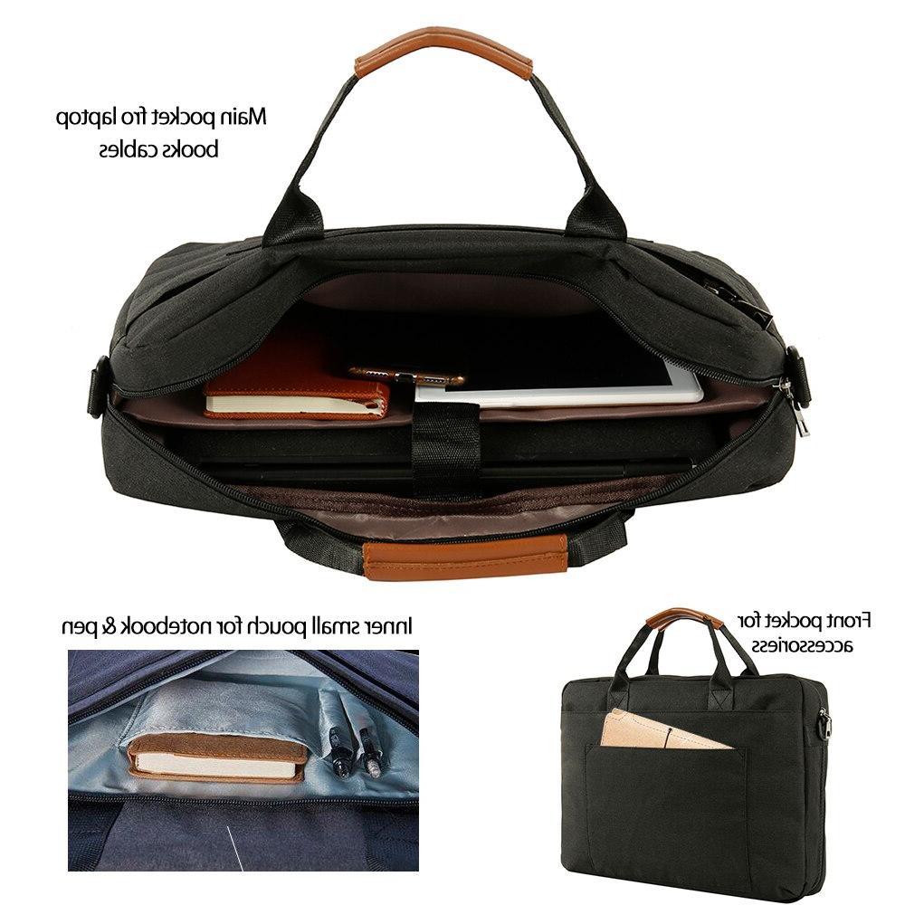 <font><b>Laptop</b></font> Bag Inch Waterproof Notebook Bag Macbook Pro Computer <font><b>Briefcase</b></font> Bag