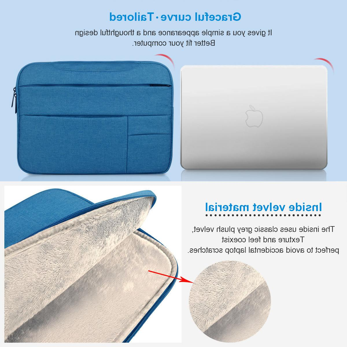 "<font><b>Laptop</b></font> Sleeve Case for Macbook Air Air <font><b>13</b></font> <font><b>13</b></font> Pro 12 Cover Notebook Handbag 14"""