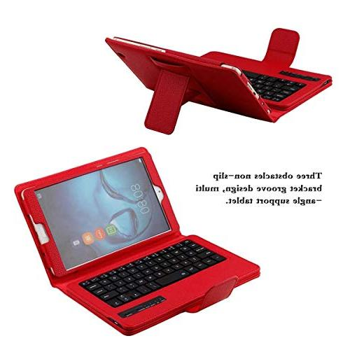 FugouSell Huawei MediaPad 8.4 inch Wireless Case, Tablet PC USA Keyboard with Auto for Huawei 8.4