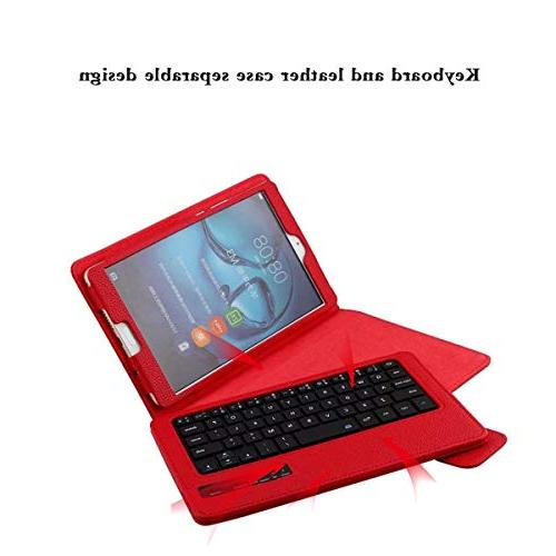 FugouSell MediaPad M3 8.4 Case, Rechargeable Detachable PC USA Keyboard with Sleep/Wake for MediaPad M3 8.4