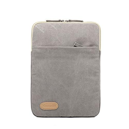 gray canvas vertical water resistant