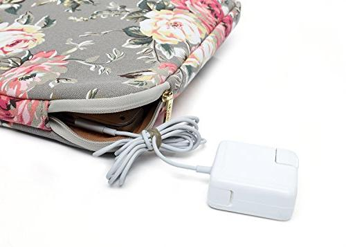 KAYOND Gery Rose canvas Laptop for 12.5inch 13inch 12.9