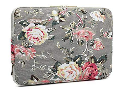 KAYOND canvas Laptop Sleeve case 12.5inch 12.9