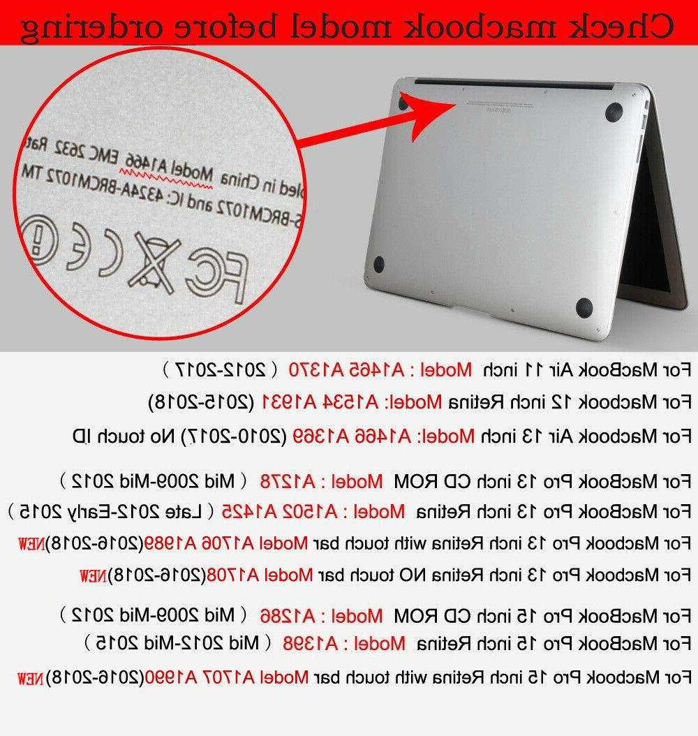 for 11 2014 2013 Shell Case Laptop Cover MBP