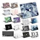 Hard Rubberized Marble Painting Case Cover For Macbook Pro A