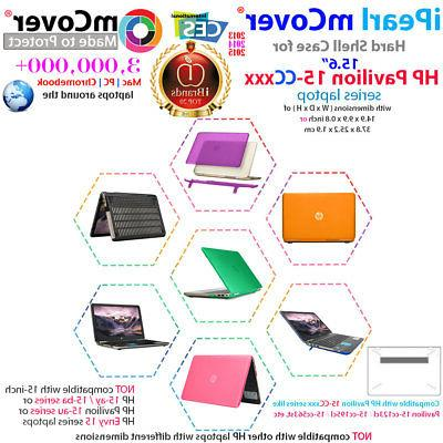 """NEW mCover® Hard Shell Case for 15.6"""" HP Pavilion 15-ccXXX"""