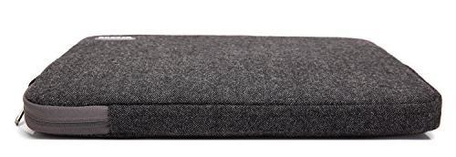 KAYOND Herringbone Woollen for 17 Laptop Sleeve Bag