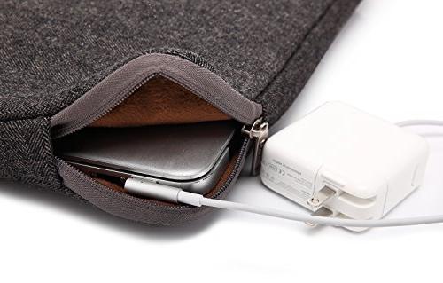 KAYOND Herringbone Woollen for Inch Sleeve Bag