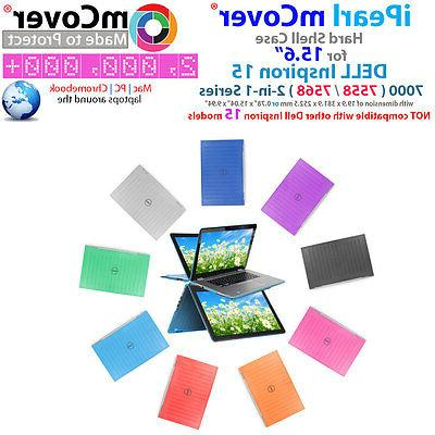 """NEW iPearl mCover Hard Case for 15.6"""" Dell Inspiron 15 7558"""