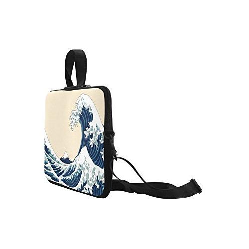 InterestPrint Great Shoulder Laptop Notebook Bag 15-15.6 Macbook Pro Dell HP Lenovo Acer Ultrabook
